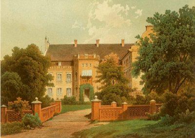 Falkenburg, Kreis Dramburg, Hinterpommern. Heute: Zlocieniec